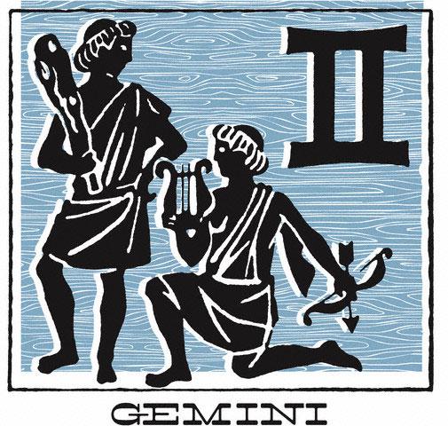 Biểu tượng hai anh em sinh đôi trong cung Gemini